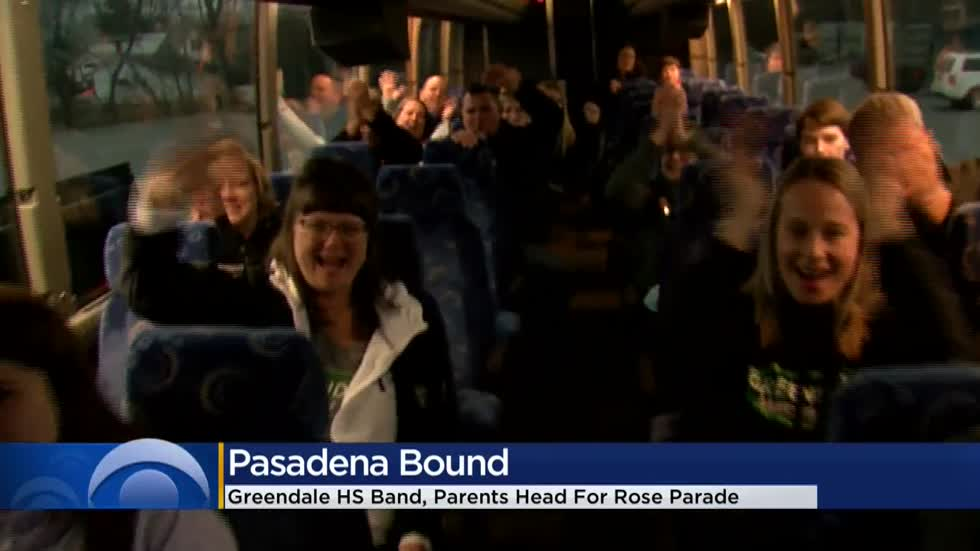 Greendale High School Marching Band headed for Rose Parade in Pasadena