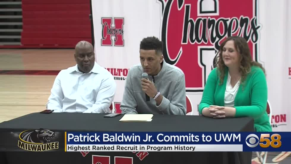 4th ranked prospect Patrick Baldwin Jr. is staying home, commits...