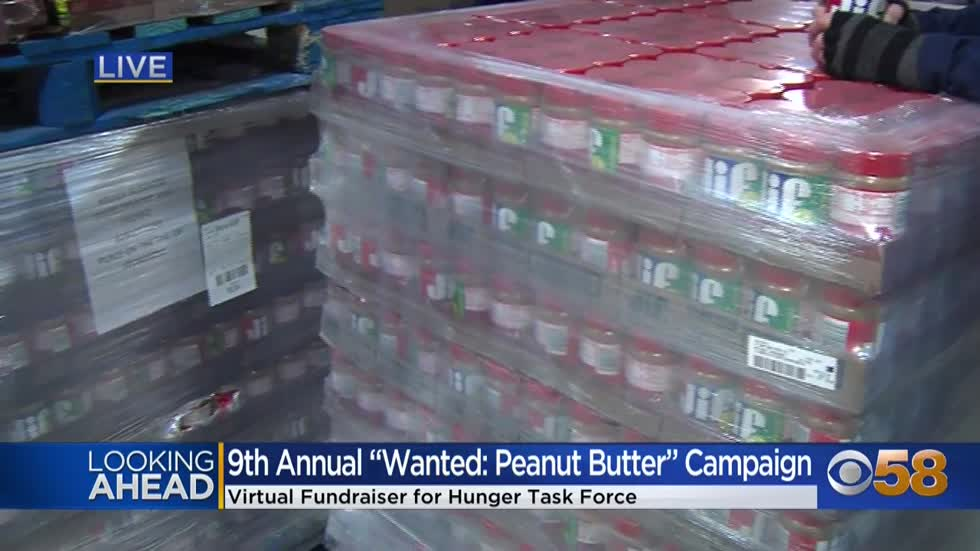 Hunger Task Force wants you to help stop the spread of hunger through Peanut Butter
