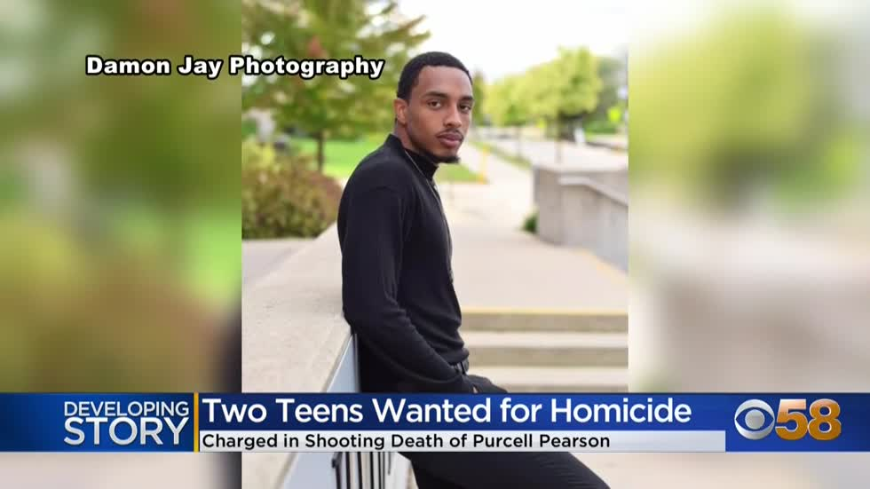 2 teens charged in fatal shooting of Purcell Pearson; both remain on the run