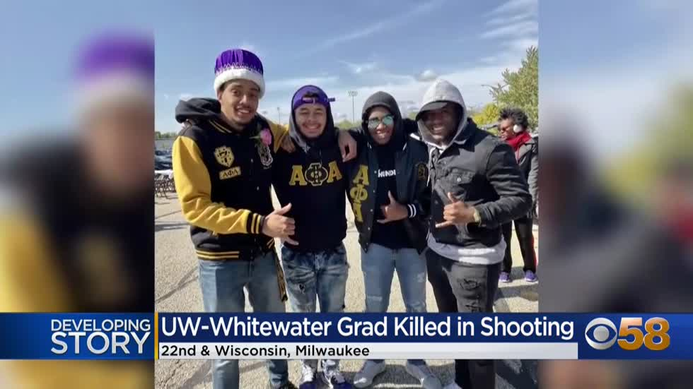 'He got murdered': Surveillance captures fatal shooting of Purcell Pearson, 22-year-old UW-Whitewater grad