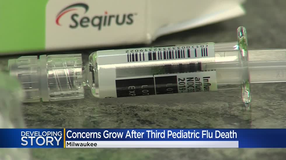 Milwaukee reports first pediatric flu-related death, doctors say season has been particularly hard