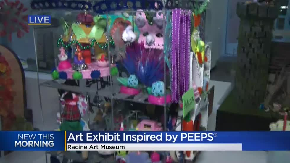PEEPS art exhibit returns to Racine Art Museum