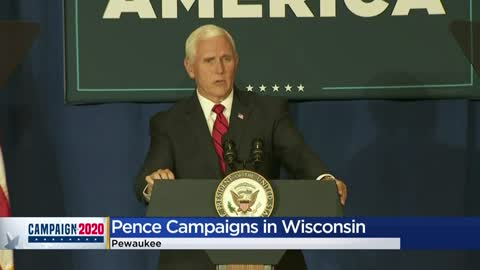 VP Pence kicks off 'Faith in America' tour in Pewaukee