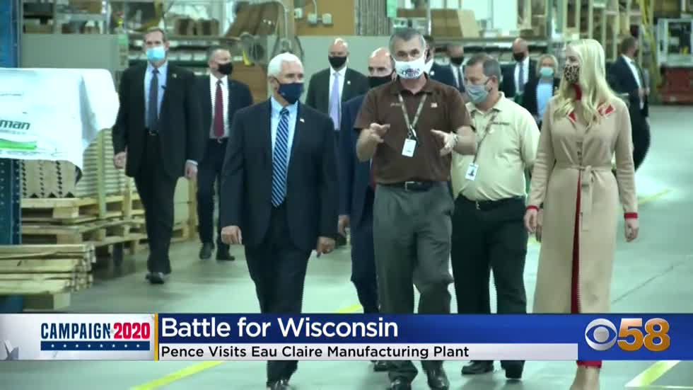 Vice President Mike Pence campaigns in Eau Claire, visits Midwest...