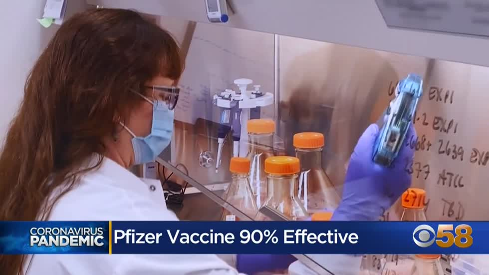 Local medical experts react to Pfizer vaccine's 90% effectiveness
