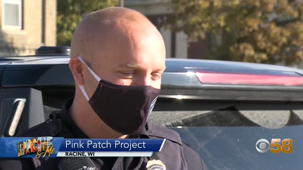 Racine & Me: Pink Patch Project