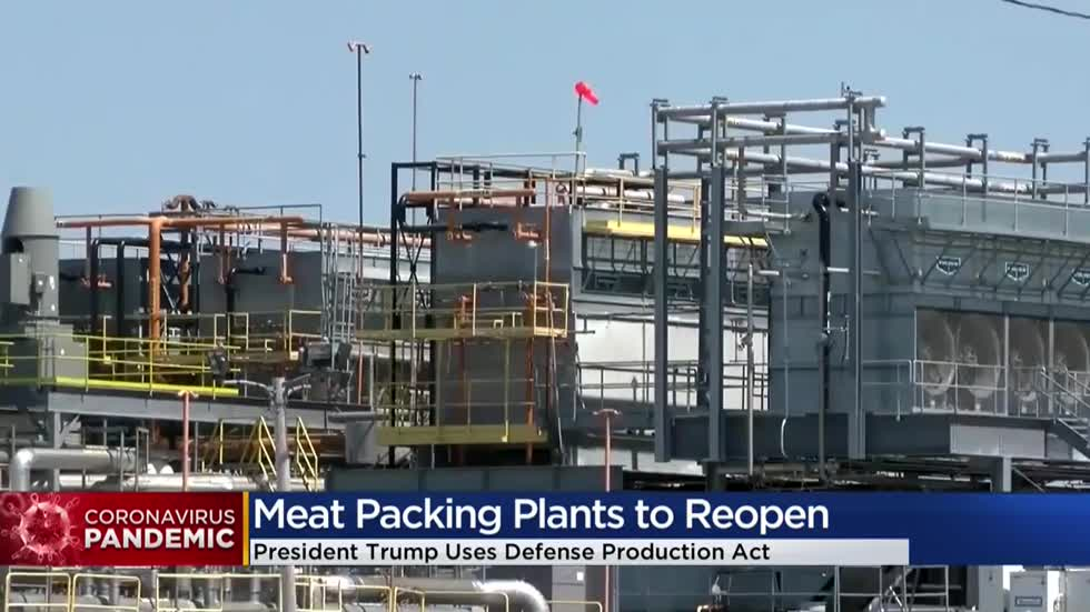 Wisconsin meat processing plants, closed after COVID-19 outbreaks, forced to re-open after Pres. Trump order