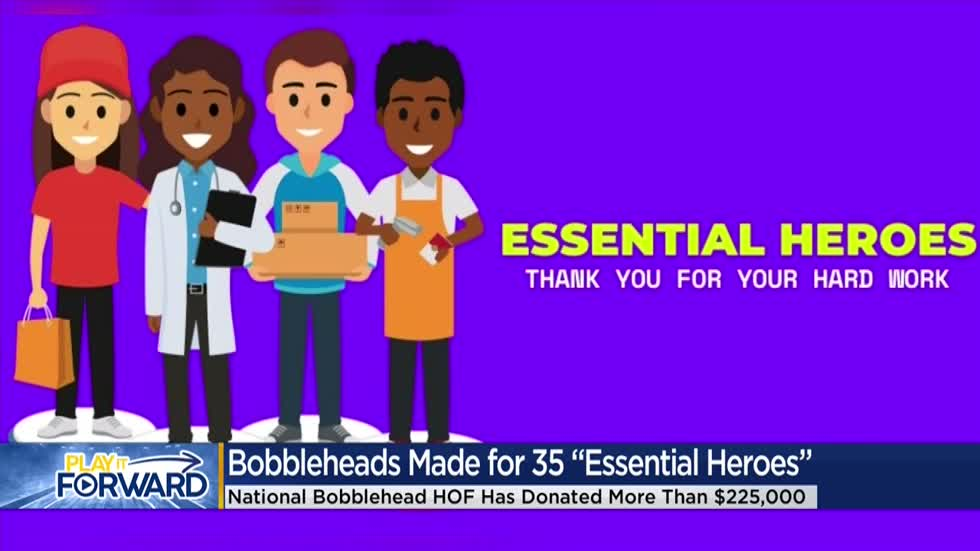 Bobblehead HOF and Museum Plays It Forward donating $225,000+