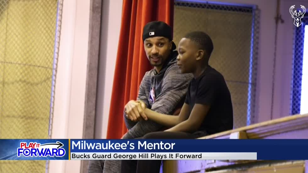 Play It Forward: George Hill becomes Milwaukee's mentor