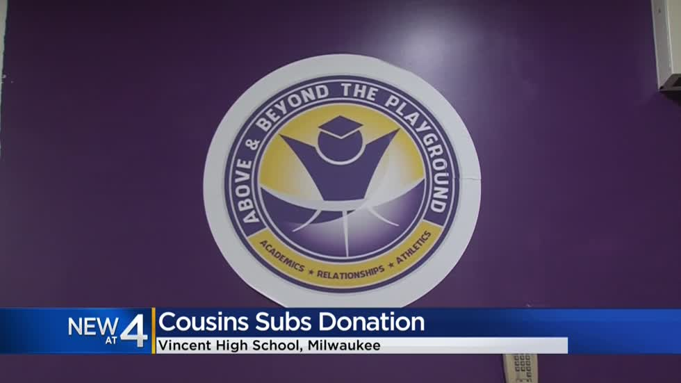 Cousins Subs donates $2,500 to nonprofit program
