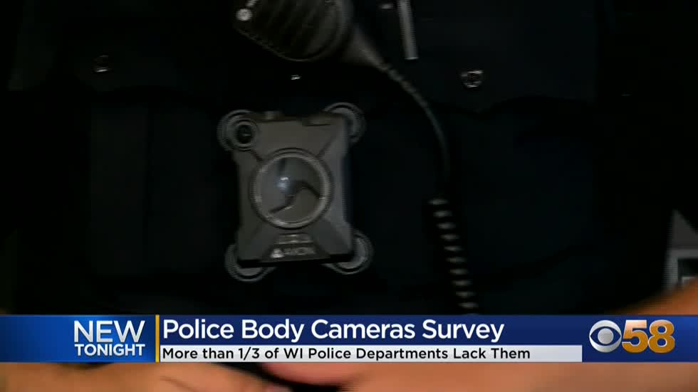 Third of Wisconsin police in survey report no body cameras