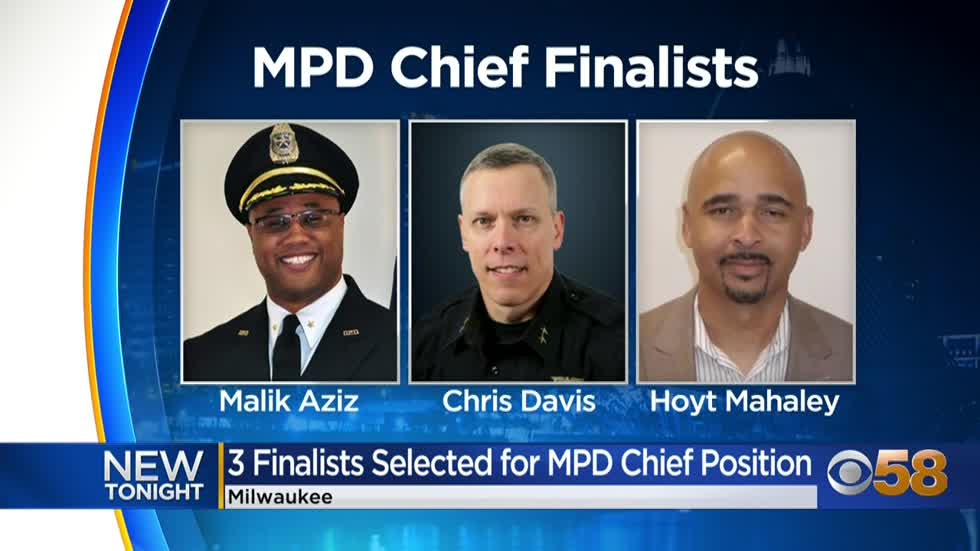 3 finalists for Milwaukee's police chief announced