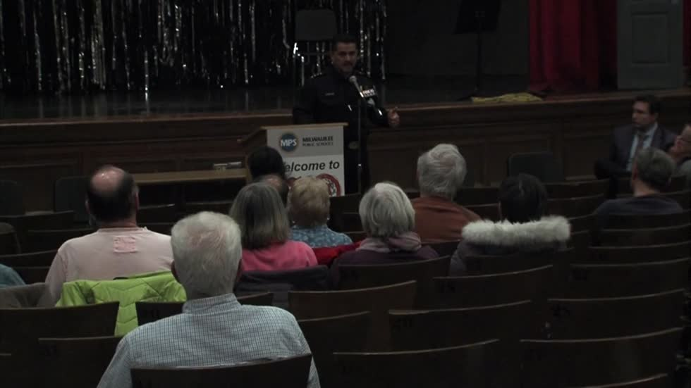 Interim Milwaukee Police Chief speaks with residents about community concerns