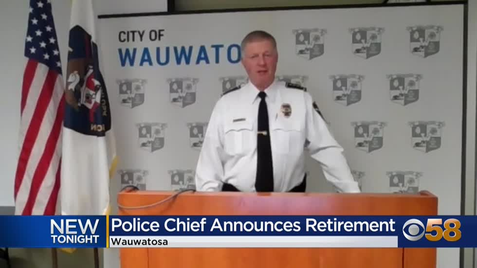 Wauwatosa Police Chief Barry Weber to retire June 1