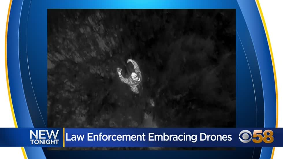 Police drone helps catch suspect in Washington County