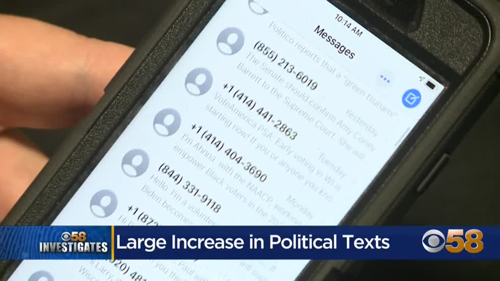 political text messages