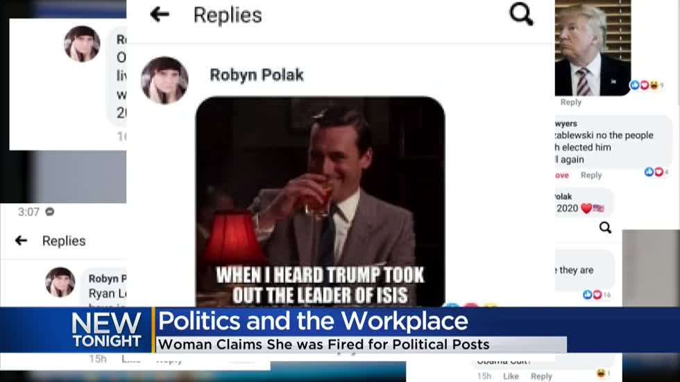 Milwaukee woman says she was fired for social media posts supporting President Trump