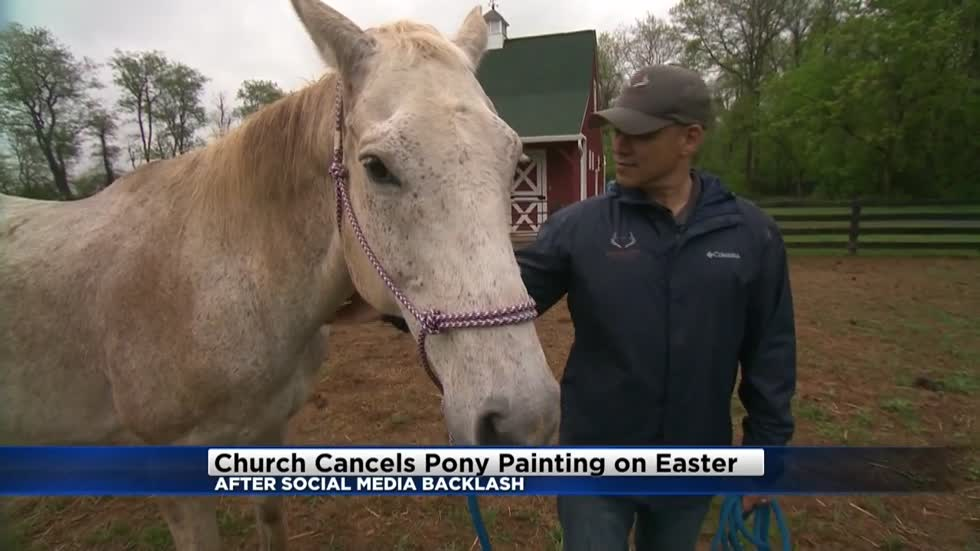 West Allis church threatened over proposed pony painting activity for Easter