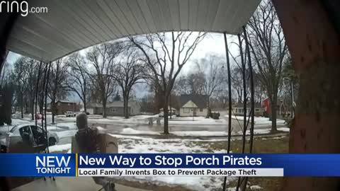 Wauwatosa father and son create product to ward off porch pirates
