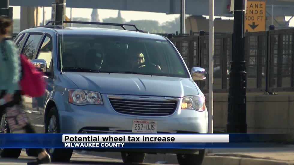 Milwaukee County Executive pushes for wheel tax increase