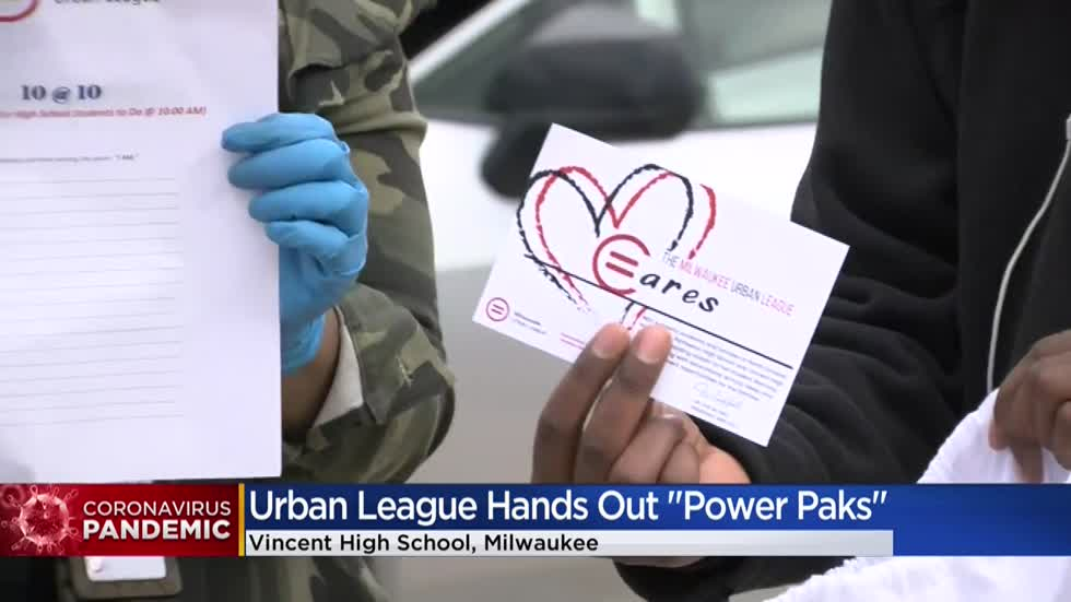 Milwaukee Urban League hands out 'Power Paks' to MPS students