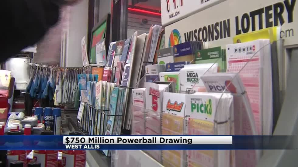Powerball jackpot up to $750 million, locals buying tickets