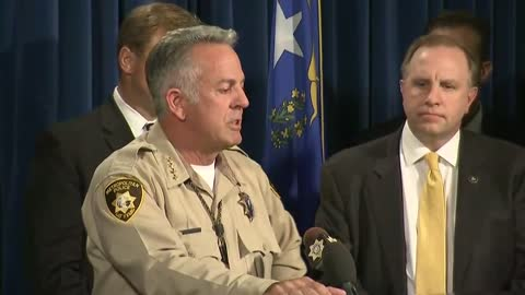 Las Vegas sheriff gives timeline of shooting, discovery of gunman