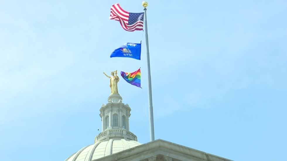 First pride month celebration held at Wisconsin Capitol