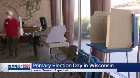 Primary Election Day: Polls open across Wisconsin 🗳️