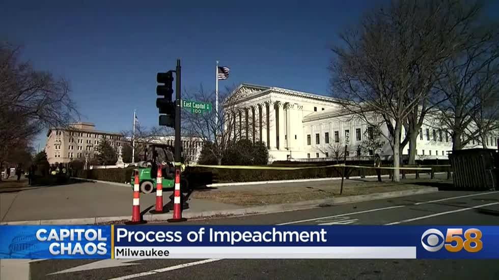 Marquette law professor projects President Trump's possible impeachment process