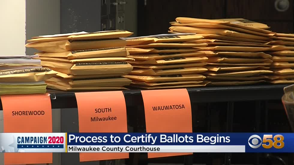 Milwaukee County starts canvass process to double-check and certify election results