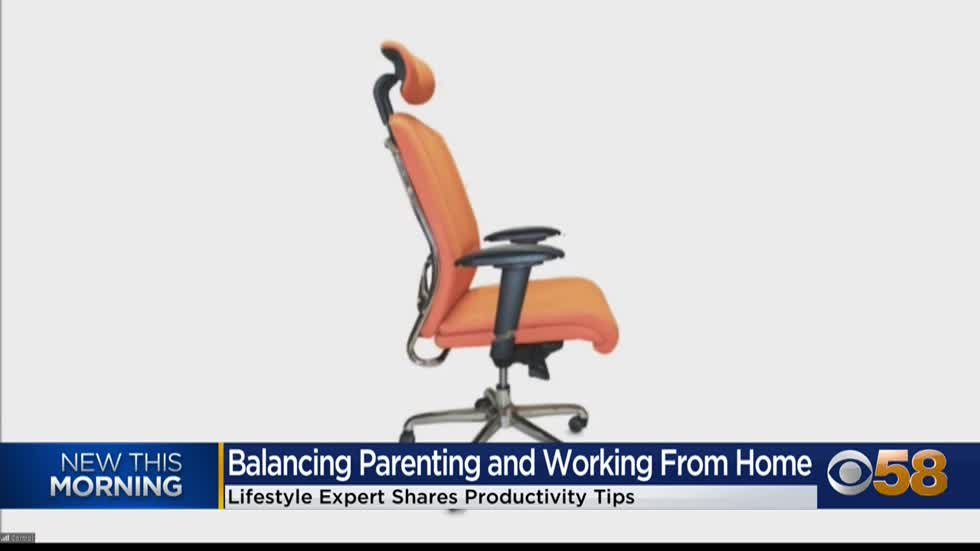 Expert shares tips for increasing productivity at home during...