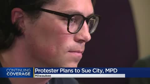 Protester plans to sue Milwaukee police after controversial arrest