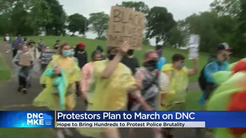 Those protesting DNC in Milwaukee will likely outnumber people...