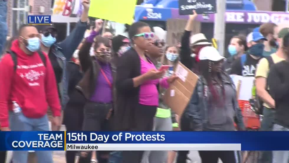 'Tired of what?': Milwaukee protesters march for justice for 15 days straight