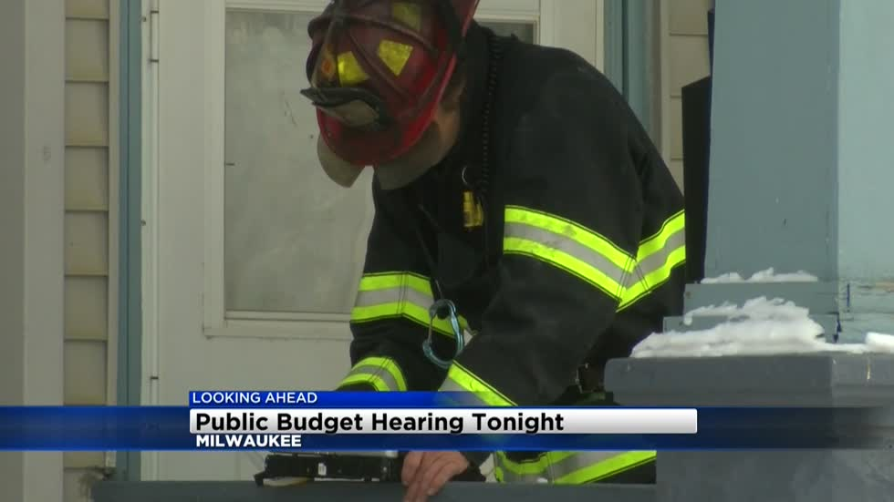 Public Budget Hearing being held to address cuts to police and fire department positions