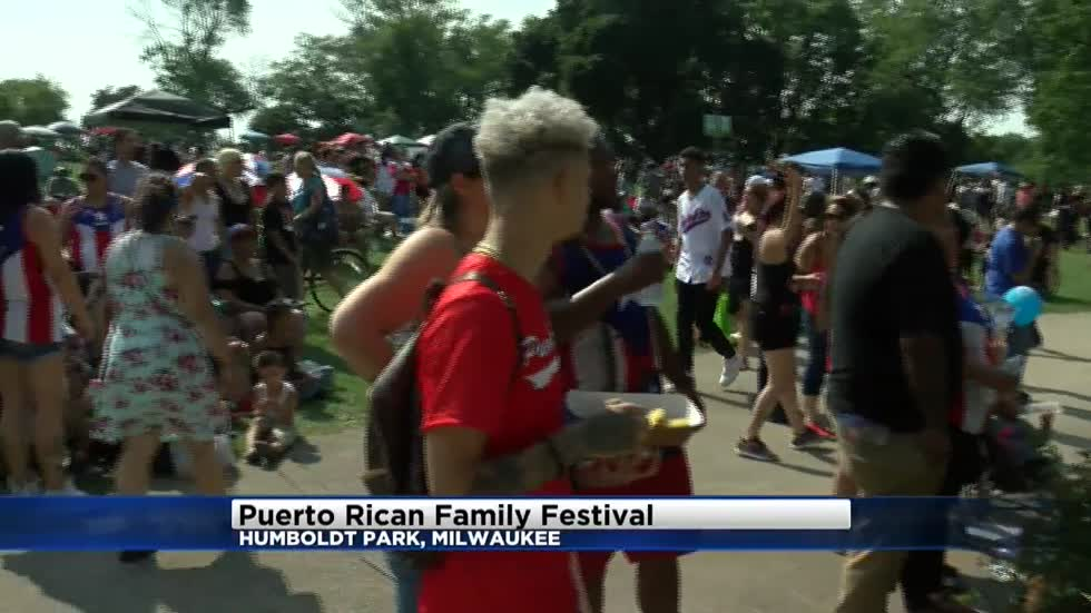 Thousands come together for 6th annual Puerto Rican family festival in Milwaukee