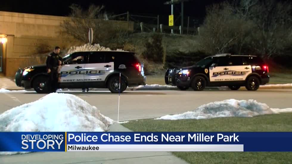 Man arrested following chase, crash early Wednesday near I-94 and General Mitchell Blvd