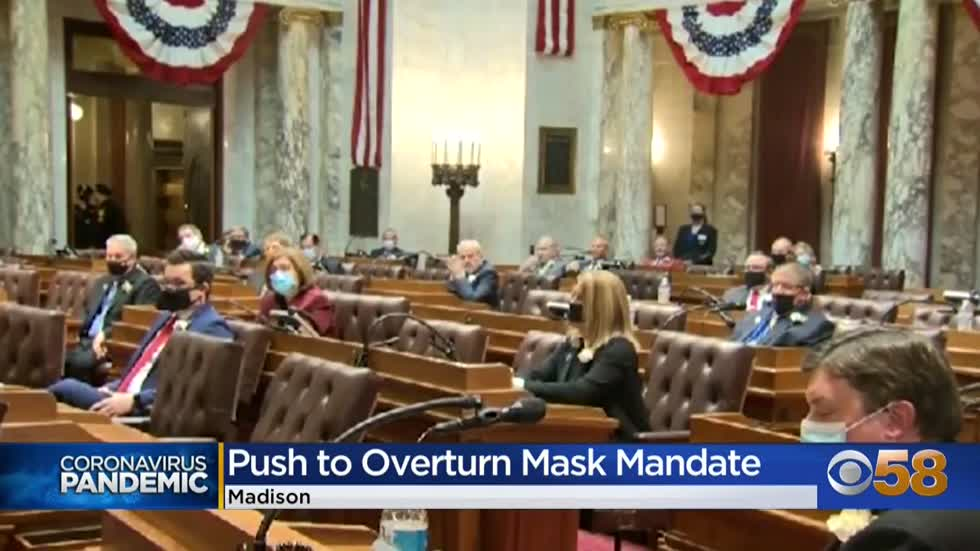 Resolution seeks to overturn Wisconsin mask mandate