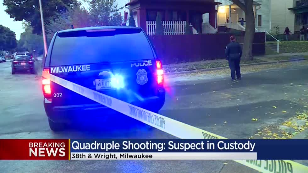 MPD: 1 dead, 3 injured in quadruple shooting near 38th and Wright