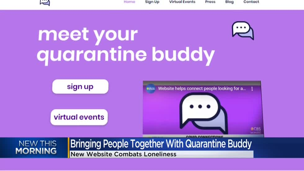 College students create 'Quarantine Buddy' website to help connect people during pandemic