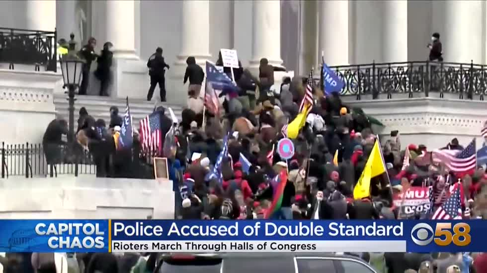 Questions surround police preparation and response at U.S. Capitol Wednesday