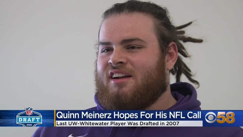 The denver broncos found a gem in the third round of the 2021 nfl draft. Uw Whitewater S Quinn Meinerz Excited To Learn His Future In The Nfl Draft