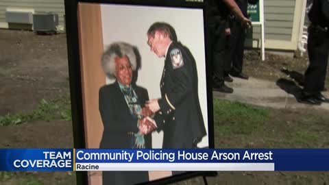Arrest made in connection to arson of Racine's Thelma Orr COP House