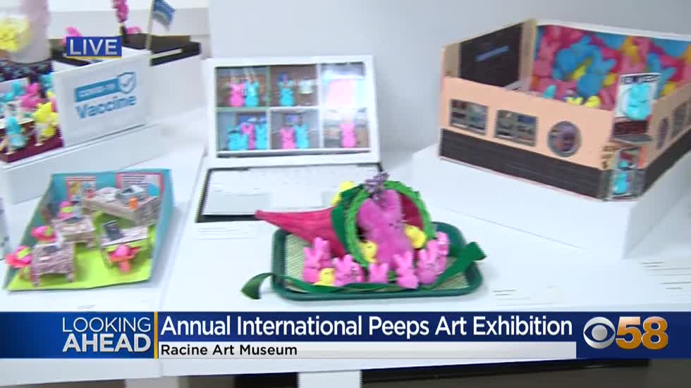 The Racine Art Museum is the 'place for peeps' through April 10 w/ its annual exhibit
