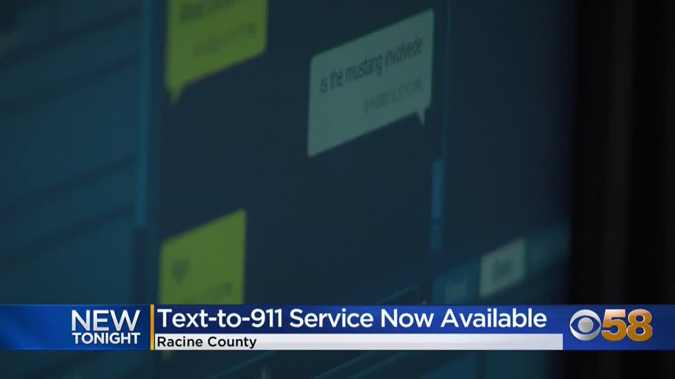 'Call if you can, text if you can't': Racine County launches...
