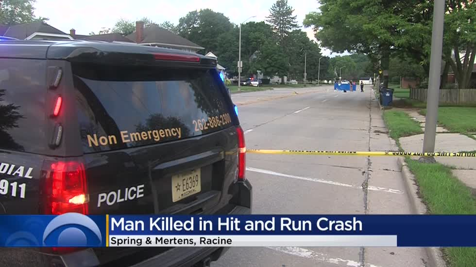 Racine Police identify victim in deadly hit-and-run near Spring and Mertens