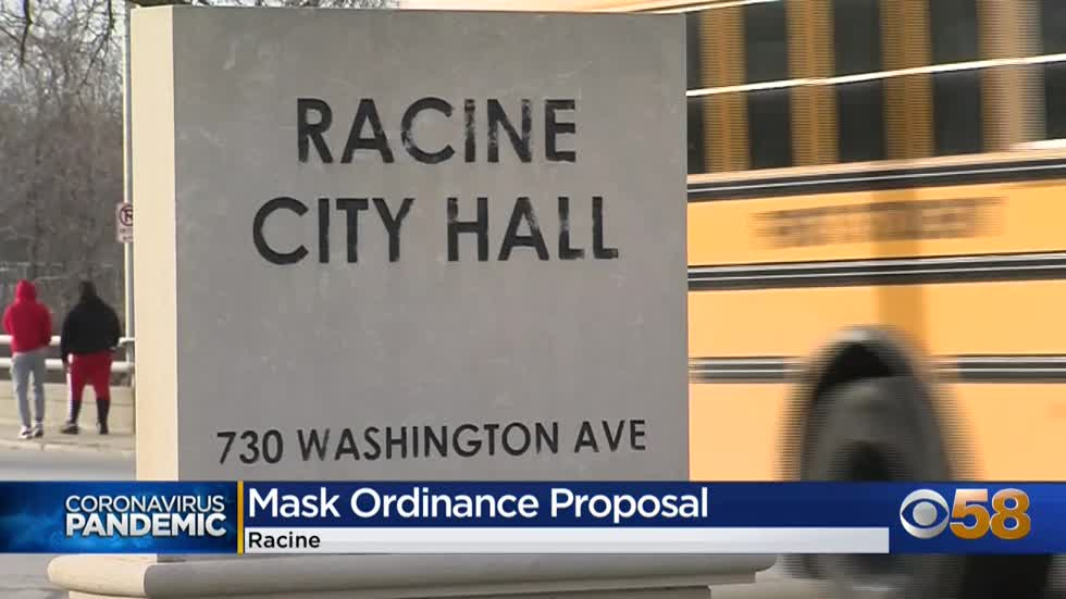 Racine health department proposes amendments to city's mask...
