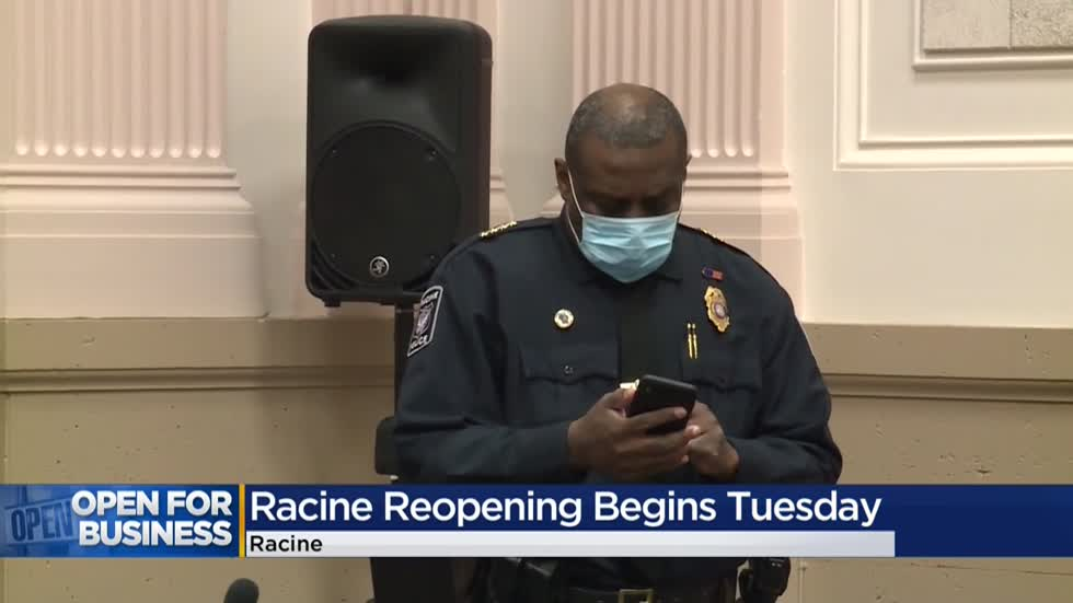 Racine officials warn they will enforce guidelines as city reopens